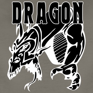 dragon_attacking_black - Women's Premium T-Shirt