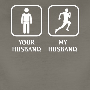 Husband Running Love- cool shirt,geek hoodie,tank - Women's Premium T-Shirt