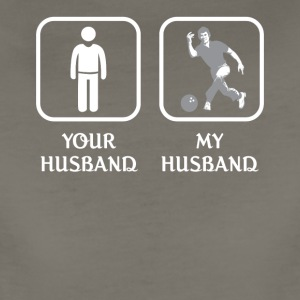 Husband Bowling Love- cool shirt,geek hoodie,tank - Women's Premium T-Shirt