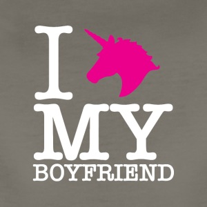 I Unicorn my boyfriend. - Women's Premium T-Shirt