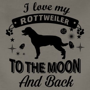 Love my Rottweiler - Women's Premium T-Shirt