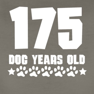 175 Dog Years Old Funny 25th Birthday - Women's Premium T-Shirt