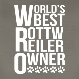 World's Best Rottweiler Owner - Women's Premium T-Shirt