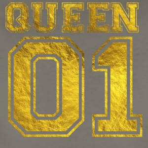 Queen_01_gold_1 - Women's Premium T-Shirt
