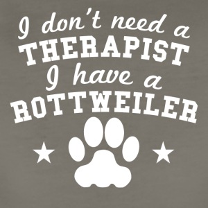 I Don't Need A Therapist I Have A Rottweiler - Women's Premium T-Shirt