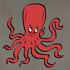Octopus Red - Women's Premium T-Shirt