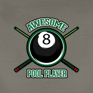 Awesome pool player - Women's Premium T-Shirt