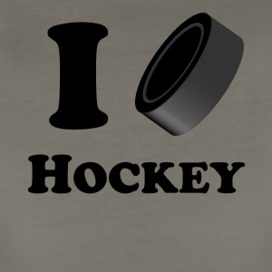 I Heart Hockey - Women's Premium T-Shirt