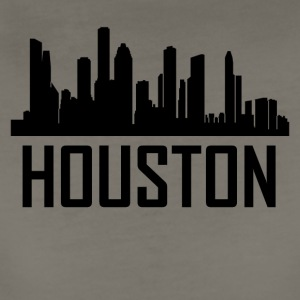 Houston Texas City Skyline - Women's Premium T-Shirt