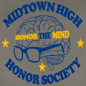 Midtown High Honor The Mind Honor Society - Women's Premium T-Shirt
