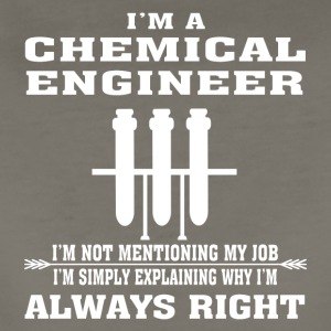 Chemical Engineer Always Right - Funny T-shirt - Women's Premium T-Shirt