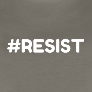 #RESIST Online Designs The Protestor - Women's Premium T-Shirt