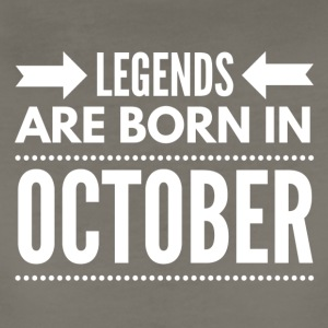Legends Born October - Women's Premium T-Shirt