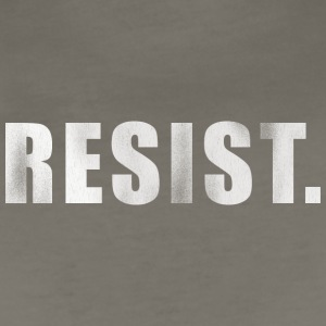 RESIST. - Women's Premium T-Shirt