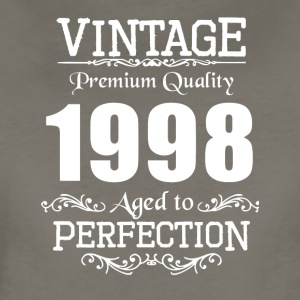 Vintage Premium Quality 1998 Aged To Perfection - Women's Premium T-Shirt