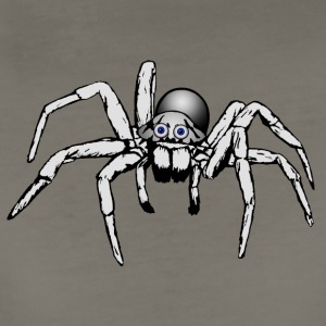 grey giant spider - Women's Premium T-Shirt