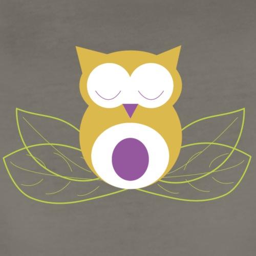 Sleeping owl - Women's Premium T-Shirt