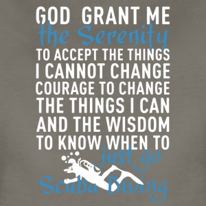Scuba Serenity Prayer Shirt - Women's Premium T-Shirt