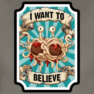 i WANT TO BELIEVE 2 - Women's Premium T-Shirt