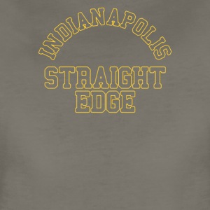 Indiana Polis Straight Edge - Women's Premium T-Shirt