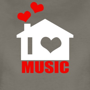 I Love House Music - Women's Premium T-Shirt