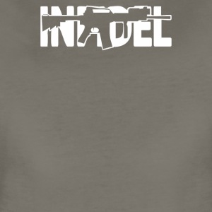 Infidel AR 15 Front US Army Rifle Gun Cost of Ammo - Women's Premium T-Shirt