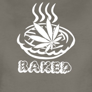 Baked Pie Weed Bong Chef - Women's Premium T-Shirt