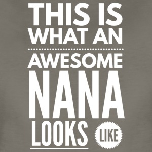 Awesome Nana - Women's Premium T-Shirt