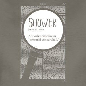 Shower funny definition - Women's Premium T-Shirt