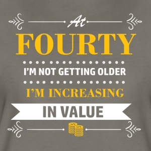 40 years and increasing in value - Women's Premium T-Shirt