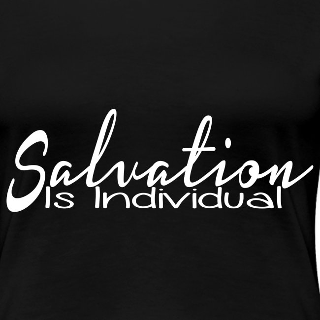 salvation is individual png