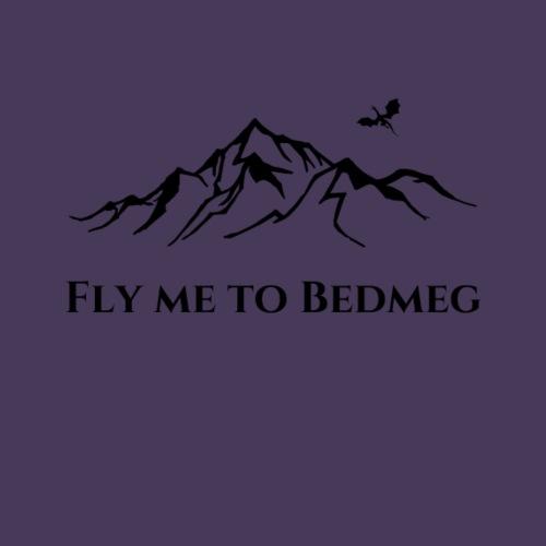 Fly Me To Bedmeg (black) - Women's Premium T-Shirt