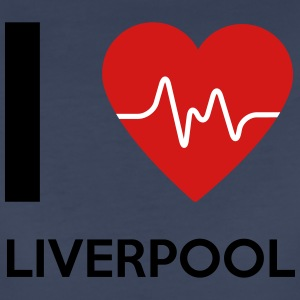I Love Liverpool - Women's Premium T-Shirt