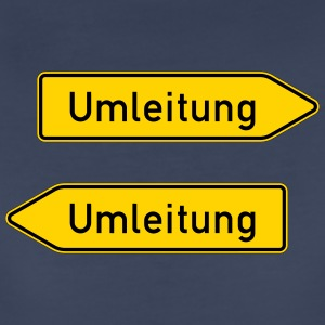 Double Umleitung - Women's Premium T-Shirt