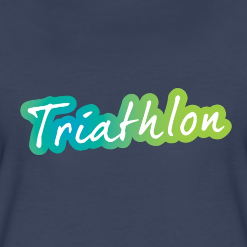 A great Triathlon gift for your friend or family - Women's Premium T-Shirt