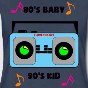 I love the 80's - Women's Premium T-Shirt