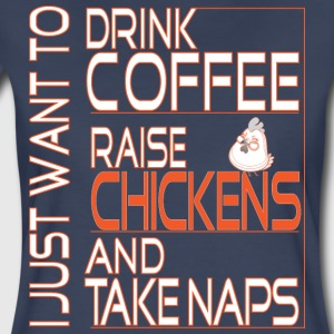 I just want to drink coffee ... - Women's Premium T-Shirt