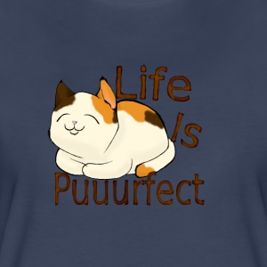 life is perfect when you're a cat - Women's Premium T-Shirt