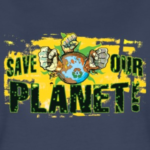 Save Our Planet - Our Earth - Women's Premium T-Shirt