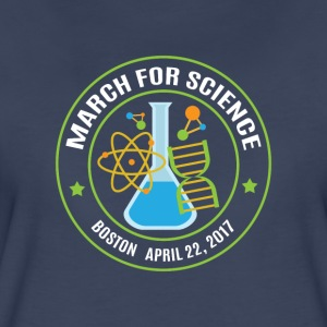 March for Science Boston - Women's Premium T-Shirt