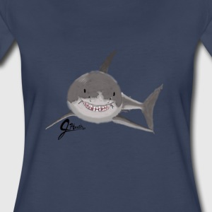Great White Shark - Swaggy Shark - Women's Premium T-Shirt