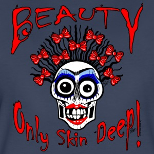 BEAUTY ONLY SKIN DEEP - Women's Premium T-Shirt