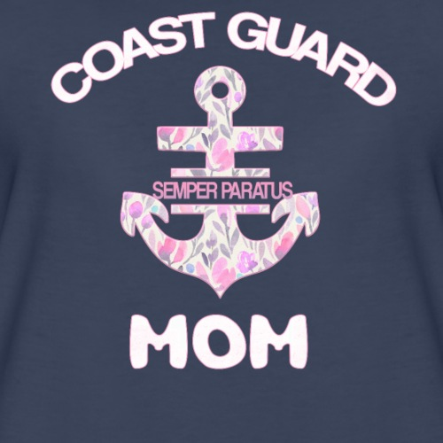 coast guard mom proud american coast guard mom - Women's Premium T-Shirt