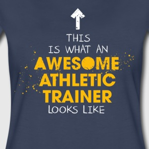 Awesome Athletic Trainer Looks Like - Women's Premium T-Shirt