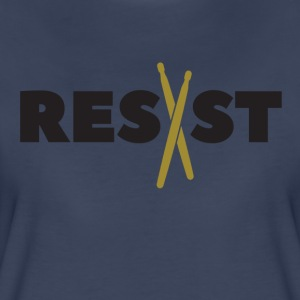 resist drumsticks - Women's Premium T-Shirt