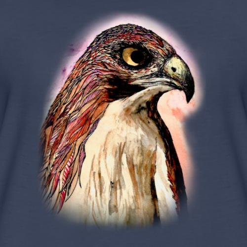 Doodle Hawk - Women's Premium T-Shirt