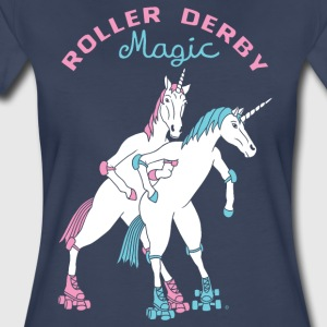 Roller Derby Magic Unicorns - Women's Premium T-Shirt