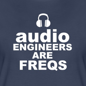 Audio Freqs - Women's Premium T-Shirt