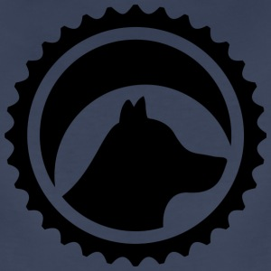 bicycle sprocket black - Women's Premium T-Shirt