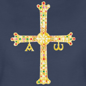 Cross of Asturias - Women's Premium T-Shirt